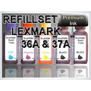 250 ml InkTec refill ink for HP 350 black + 351 color